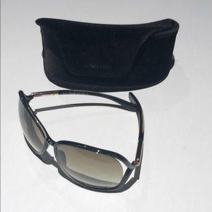 Tom Ford Raquel TF76 brown woman's sunglasses